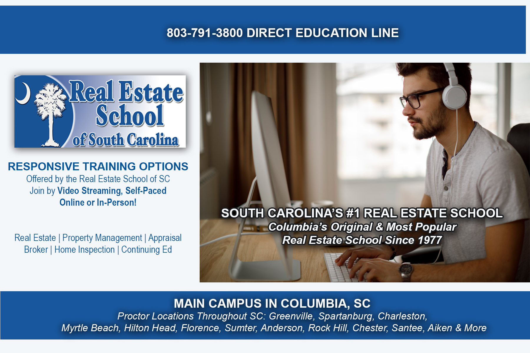 Real Estate School Of Sc
