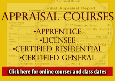 appraisal license courses