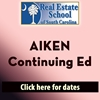 Aiken Continuing Education 4 Hours in 1 Day  con ed, real estate classes, continuing education, real estate continuing ed, real estate school of sc, chip browne, steve grooms, melissa sprouse browne