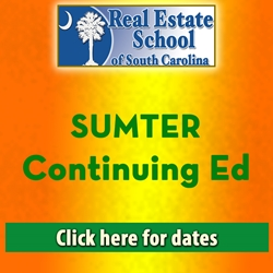 Sumter Continuing Education con ed, real estate classes, continuing education, real estate continuing ed, real estate school of sc, chip browne, steve grooms, melissa sprouse browne