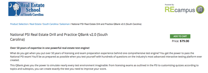 National PSI Real Estate Drill and Practice Question Bank