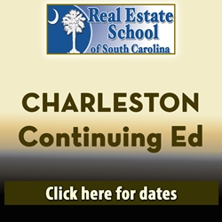 Charleston Continuing Education - 4 Hours in 1 Day  con ed, real estate classes, continuing education, real estate continuing ed, real estate school of sc, chip browne, steve grooms, melissa sprouse browne