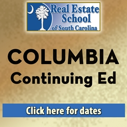 Columbia Continuing Education - 2 Hours in 1 Day  con ed, real estate classes, continuing education, real estate continuing ed, real estate school of sc, chip browne, steve grooms, melissa sprouse browne