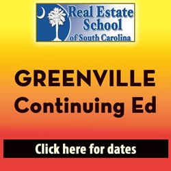 Upstate Continuing Education - 4 Hours in 1 Day con ed, real estate classes, continuing education, real estate continuing ed, real estate school of sc, chip browne, steve grooms, melissa sprouse browne