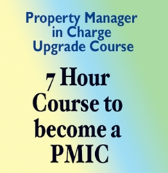 PMIC Update Class - (Property Manager in Charge Update) pmic class, property manager in charge, property manager in charge course,