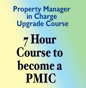PMIC Class - Property Manager in Charge VIDEO STREAMING VERSION pmic class, property manager in charge, property manager in charge course,